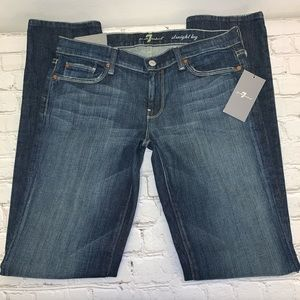7 For All Mankind Straight Leg Jeans Size 30